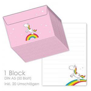 bloc de papier à lettre TOP 12 image 0 produit
