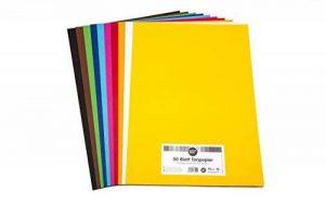 bloc papier couleur TOP 9 image 0 produit