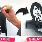 BOB MARLEY Façade pochoir iconic portrait mural de maison décor & ART POCHOIR PEINTURE SUR MESURE produits et ajouter peint finition à Murs, Fabrics, meuble et plus de la marque Ideal Stencils image 3 produit
