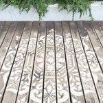 Boukhara Mandala indien Mur meubles Sol Pochoir (50cm) de la marque Dizzy Duck Designs image 3 produit