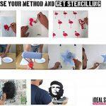 bouledogue pochoir, décore de maison, ART ARTISANAT PEINTURE IMPRESSION - Peinture murs TISSUS MEUBLES - Réutilisable lavable - M/26X30CM de la marque Ideal Stencils image 3 produit