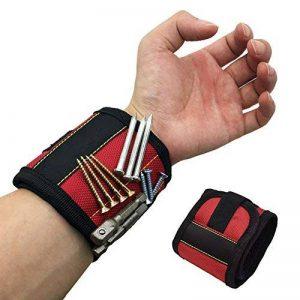 Bracelet Magnétique Polyester Portable Réparation De Support De Forets De Vis D'électricien Sac À Poignet de la marque NACHEN image 0 produit
