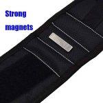 Bracelet Magnétique Polyester Portable Réparation De Support De Forets De Vis D'électricien Sac À Poignet de la marque NACHEN image 2 produit