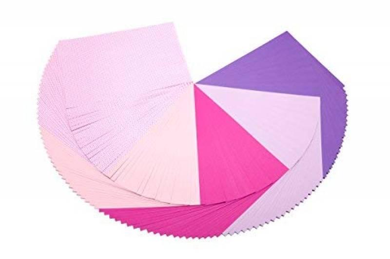 Pinks Craft Coloured Foam 8 Sheet Shade Multipack Dovecraft A4 Art