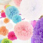 bricolage fleur en papier de soie TOP 2 image 1 produit