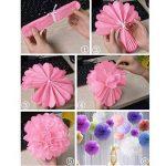 bricolage fleur en papier de soie TOP 8 image 4 produit
