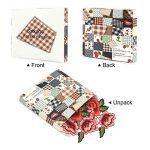 Broderie Fleur, Satkago 5Pcs Patch Rose Fleur Ecusson à Coudre pour Vêtement T-shirt Jeans Veste Sac de la marque Satkago image 1 produit