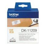 Brother DK-11209 800 etiquettes adresse 29 X 62 mm Noir/Blanc de la marque Brother image 1 produit