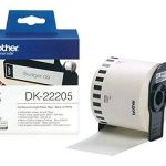 Brother DK22205 Rouleau papier étiquette 62 mm x 30,48 m Blanc de la marque Brother image 1 produit