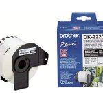 Brother DK22205 Rouleau papier étiquette 62 mm x 30,48 m Blanc de la marque Brother image 2 produit