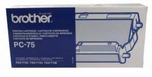 BROTHER-PC75 BROTHER PC75 & CASSETTE ruban de la marque Brother image 0 produit