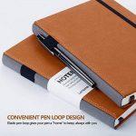 Bullet Journal/Carnet Pointillé - Lemome Dotted Sketchbook avec Papier épais Premium - Diviseurs Cadeaux, A5, 8,4 x 5,7 pouces (Marron) de la marque Lemome image 1 produit