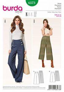 Burda B6573 Patron de Couture Pantalon Papier Blanc 19 x 13 x 1 cm de la marque Burda image 0 produit
