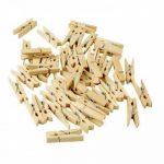 """'Cadeau Sachets Set """"Nature, 72tlg., 24pochettes cadeaux + 24autocollant + 24mini pinces en bois–Cadeau sac pour cadeaux de toutes sortes, biscuits, biscuits, etc. de la marque EAST-WEST Trading GmbH image 1 produit"""