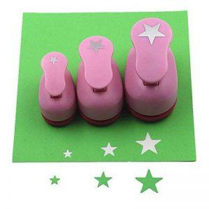 Cady Crafts Punch Lot de 8mm 15mm 25mm Papier Perfore 3pcs/lot Étoile de la marque image 0 produit