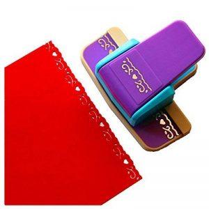 Cady Nouvelle perforatrice embosseur fantaisie de bordure de Scrapbooking pour découpe et perforation de papier 1 de la marque CADY image 0 produit
