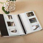 CAIUL Mini Albums Photo spécial pour FujiFilm Instax Mini 7s 8 8+ 9 25 26 50s 70 90 Pellicule, Polaroid PIC-300 Z230 Film(120 Photos,Gris) de la marque CAIUL image 2 produit