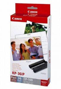 Canon de papier photo pour canon selphy cP 720 36 feuilles color ink paper lot de 100 x 148 mm cP720 de la marque Canon image 0 produit