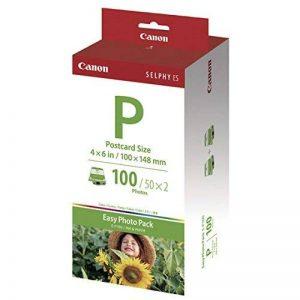 Canon Easy Photo Pack E-P100 Pack papier photo + encre de la marque Canon image 0 produit