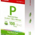 Canon Easy Photo Pack E-P100 Pack papier photo + encre de la marque Canon image 1 produit