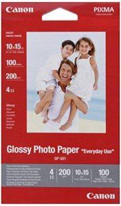 Canon Everyday Use Glossy GP-501 Papier photo glacé 10x15cm 100 feuilles de la marque Canon image 0 produit
