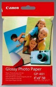 Canon Glossy Photo Paper GP401 papier photo 10x15cm 50 de la marque Canon image 0 produit