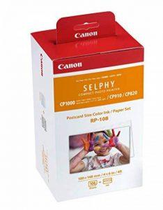 Canon - Jeu d'encre RP-108 pour Selphy - 108 tirages de la marque Canon image 0 produit