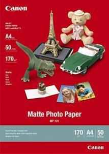 Canon - Matte Photo Paper MP101 - papier photo - A4 - 50 feuilles de la marque Canon image 0 produit