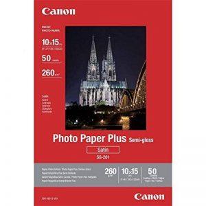 Canon Papier Photo Satiné SG-201 10X15 (50 feuilles) de la marque Canon image 0 produit