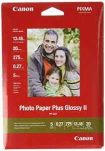 Canon Photo Paper Plus Glossy II PP201 papier photo 13x18cm 20 feuilles de la marque Canon image 0 produit