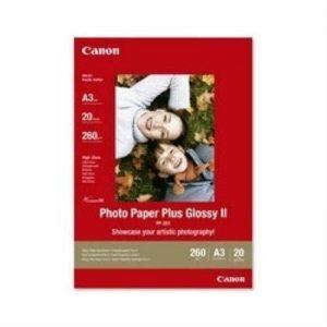 Canon Photo Paper Plus Glossy II PP201 papier photo A3 20 feuilles de la marque Canon image 0 produit