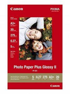 Canon Photo Paper Plus Glossy II PP201 papier photo A3+ 20 feuilles de la marque Canon image 0 produit