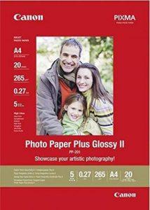 Canon Photo Paper Plus Glossy II PP201 papier photo A4 20 feuilles de la marque Canon image 0 produit