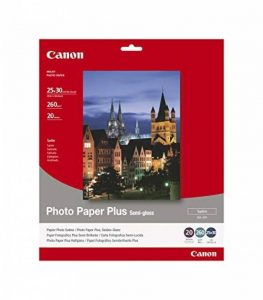 Canon Photo Paper Plus Semi-gloss SG201 papier photo 25x30cm 20 feuilles de la marque Canon image 0 produit