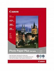 Canon Photo Paper Plus Semi-gloss SG201 papier photo A3+ -1686B032-20 feuilles de la marque Canon image 0 produit