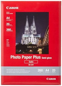 Canon Photo Paper Plus Semi-gloss SG201 papier photo A4 20 feuilles de la marque Canon image 0 produit