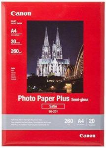 Canon Photo Paper Plus Semi-gloss SG201 papier photo A4 20 feuilles de la marque Canon image 0 produit