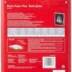 Canon Photo Paper Plus Semi-gloss SG201 papier photo A4 20 feuilles de la marque Canon image 1 produit