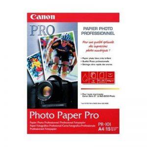 Canon Photo Paper Pro PR101 papier photo A4 15 feuilles de la marque Canon image 0 produit