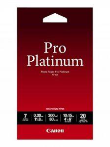 Canon PT-101 Papier photo Pro Platinum 20 feuilles de la marque Canon image 0 produit