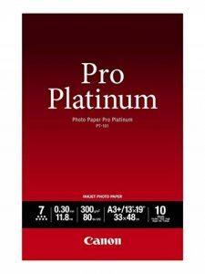 Canon PT-101 Papier photo Pro Platinum A3+ 10 feuilles de la marque Canon image 0 produit