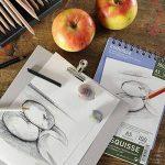 Canson 200005776 Album Esquisse 70 feuilles Papier à dessin 100g 14,8 x 21 cm - A5 Blanc de la marque Canson image 1 produit