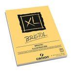 Canson 400039173Bloc XL bristol très lisse, 180g/m², bloc 50feuilles par bloc, encollé sur le côté court, 297x 420mm, blanc de la marque Canson image 3 produit