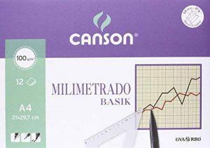 Canson 406323 Papier millimétré 12 pages de la marque Canson image 0 produit