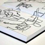 Canson Art Book One Carnet avec tranchefile Papier à dessin 98 feuilles 100g/m2 21,6 x 27,9 cm Blanc de la marque Canson image 2 produit