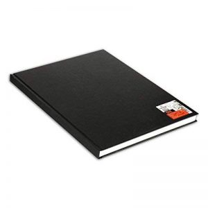 Canson Art Book One Papier à dessin 100 feuilles 27,9 x 35,6 cm, 100g/m2 Blanc de la marque Canson image 0 produit