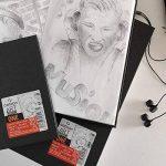 Canson Art Book One Papier à dessin 100 feuilles 27,9 x 35,6 cm, 100g/m2 Blanc de la marque Canson image 2 produit