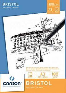 Canson Bloc 200005762 Papier à dessin Blanc de la marque Canson image 0 produit
