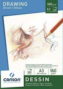 Canson Bloc 200005780 Papier à dessin Blanc pur de la marque Canson image 0 produit