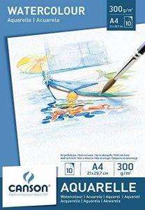 Canson Bloc 200005789 Papier aquarelle Blanc de la marque Canson image 0 produit